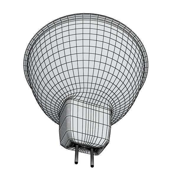 halogēna lampa ar augstu detaļu 3d modelis 3ds max fbx obj 134496