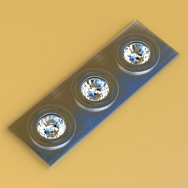 halogen lamps collection 15 items 3d model 3ds max fbx obj 134637
