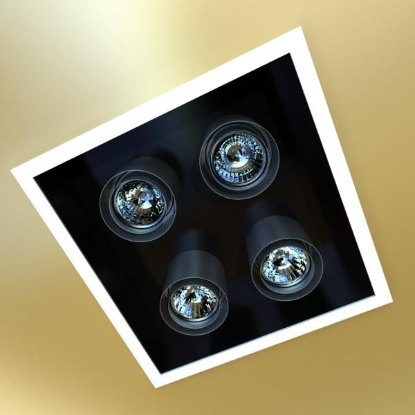 halogen lamps collection 15 items 3d model 3ds max fbx obj 134640