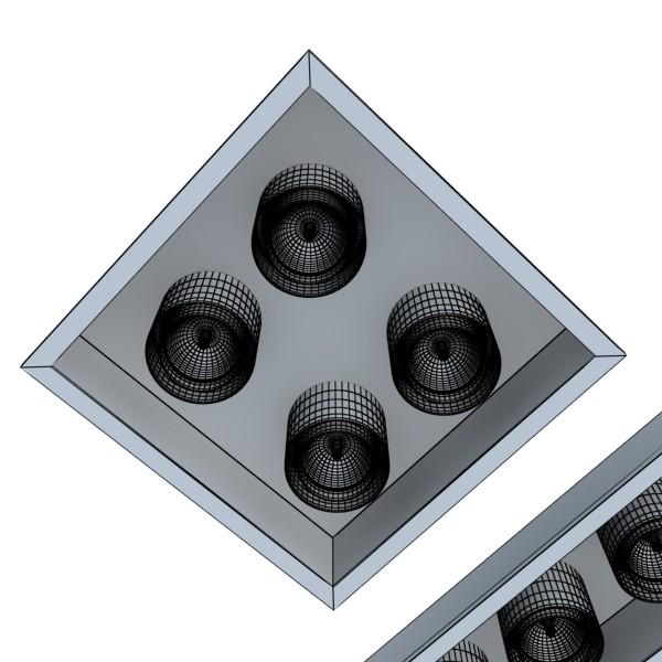 halogen lamps collection 15 items 3d model 3ds max fbx obj 134664