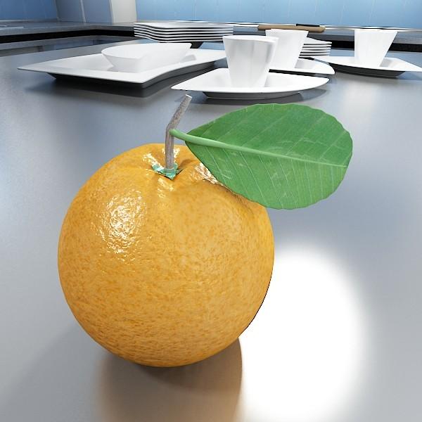 orange high detailed 3d model 3ds max fbx obj 132635