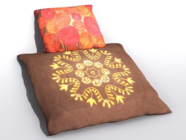 pillow 2 3d model max 112472