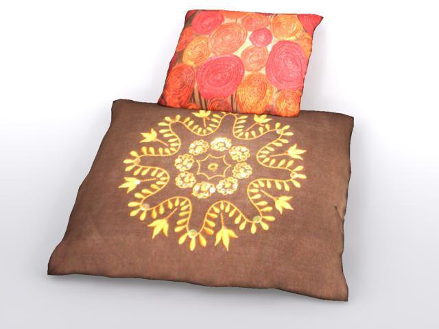 pillow 2 3d model max 112473
