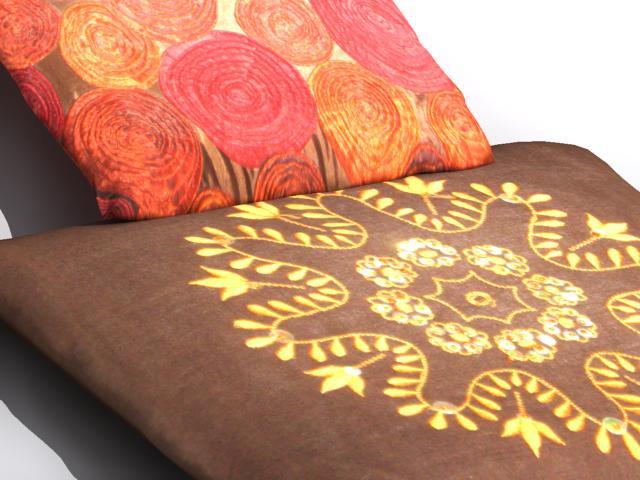 pillow 2 3d model max 112474