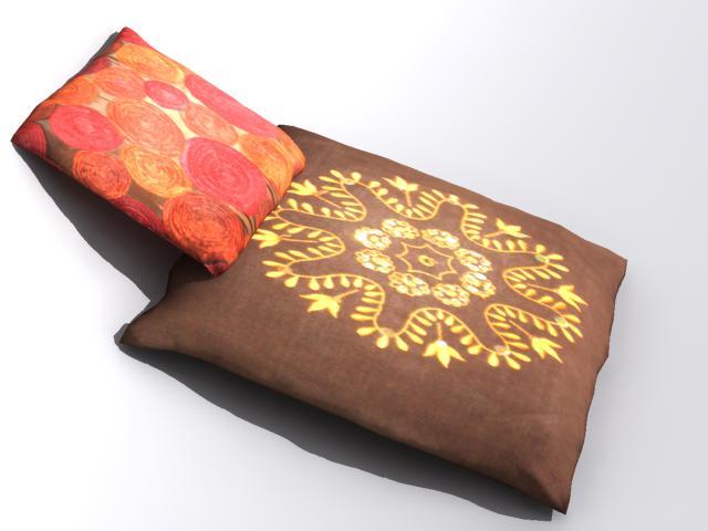 pillow 2 3d model max 112475