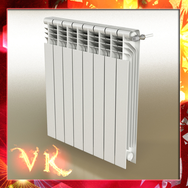 radiator 3 3d model 3ds max fbx obj 148427