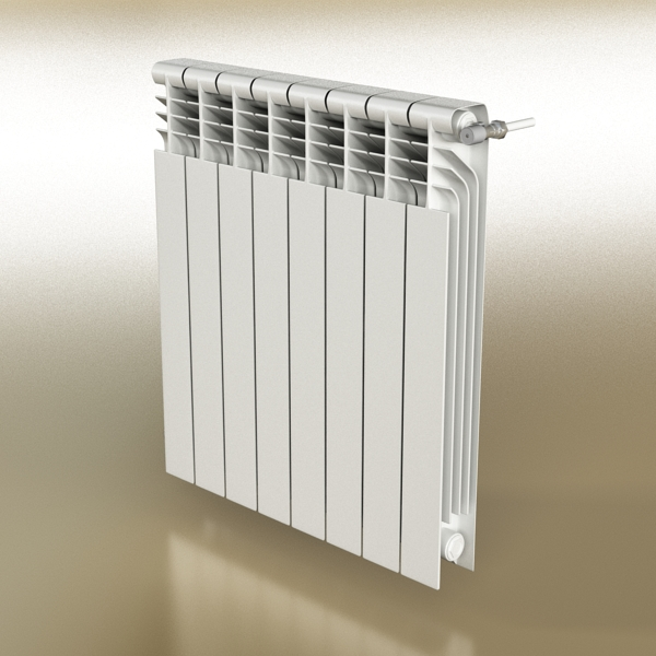 radiator 3 3d model 3ds max fbx obj 148428