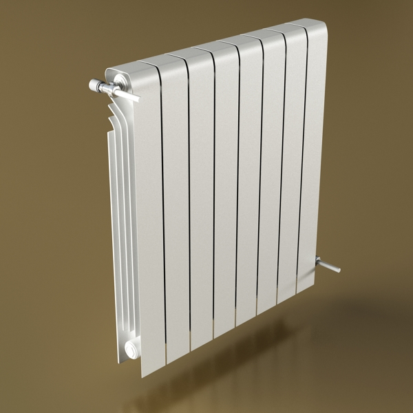 radiator 3 3d model 3ds max fbx obj 148432