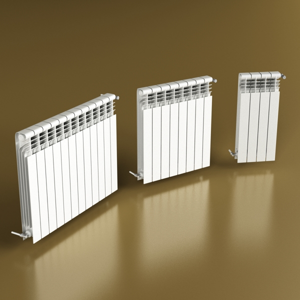 radiator 3 3d model 3ds max fbx obj 148434