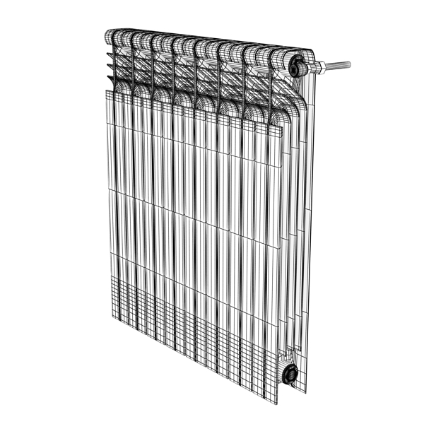 radiator 3 3d model 3ds max fbx obj 148437