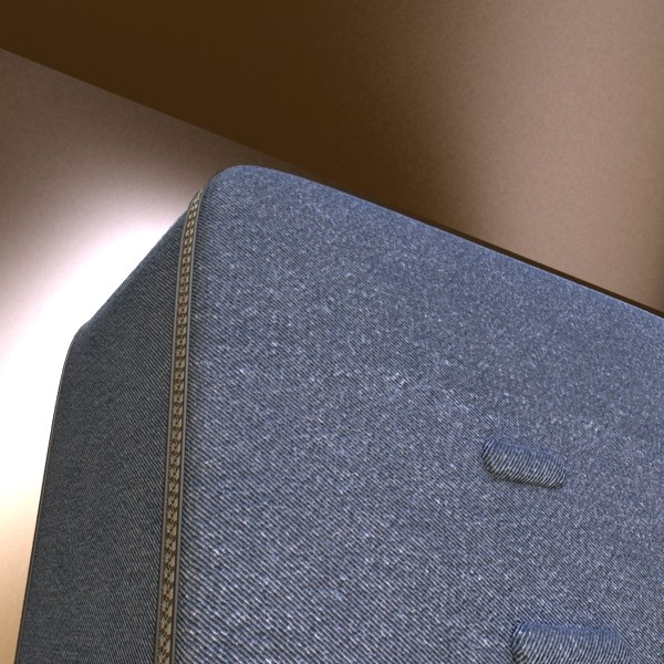 rolling suitcase 02 high detail 3d model 3ds max fbx obj 131592