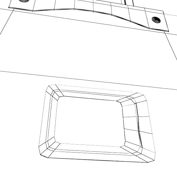 rolling suitcase 02 high detail 3d model 3ds max fbx obj 131600