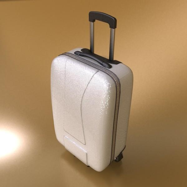 rolling suitcase 03 high detail 3d model 3ds max fbx texture obj 131610