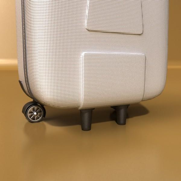rolling suitcase 03 high detail 3d model 3ds max fbx texture obj 131615