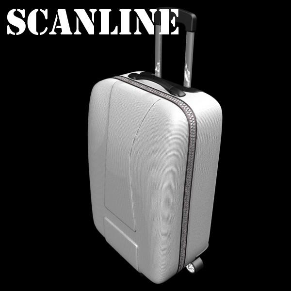 rolling suitcase 03 high detail 3d model 3ds max fbx texture obj 131617