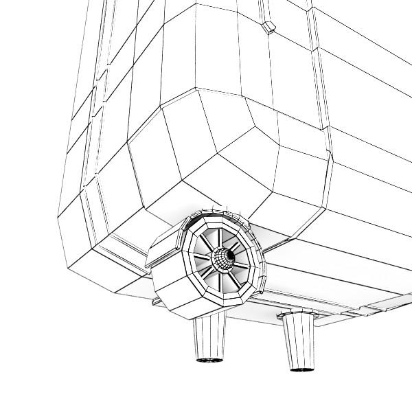 rolling suitcase 03 high detail 3d model 3ds max fbx texture obj 131620