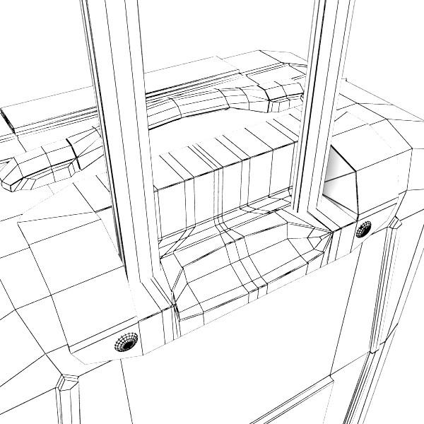 rolling suitcase 03 high detail 3d model 3ds max fbx texture obj 131621