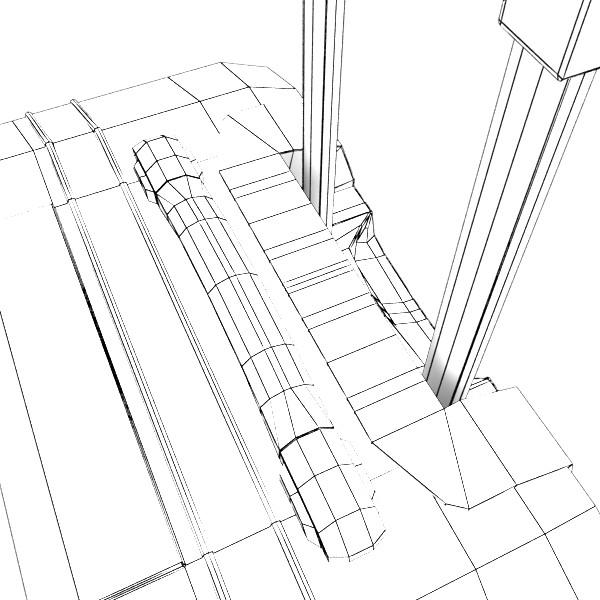 rolling suitcase 03 high detail 3d model 3ds max fbx texture obj 131622