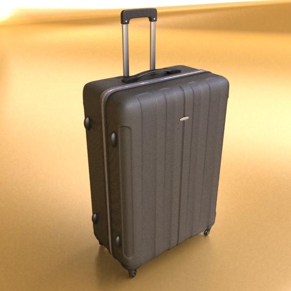 suitcase collection high detail 3d model 3ds max fbx obj 131628