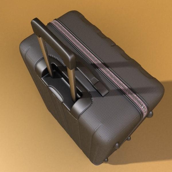 suitcase collection high detail 3d model 3ds max fbx obj 131631