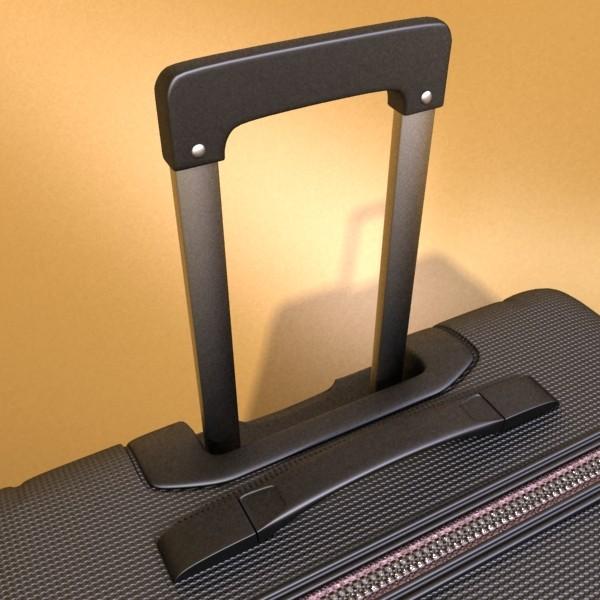 suitcase collection high detail 3d model 3ds max fbx obj 131632