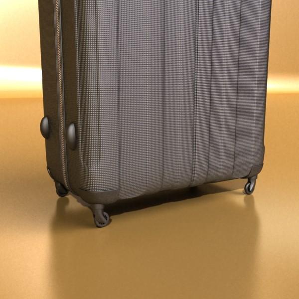 suitcase collection high detail 3d model 3ds max fbx obj 131633