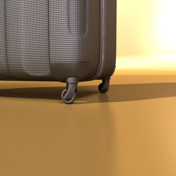 suitcase collection high detail 3d model 3ds max fbx obj 131634