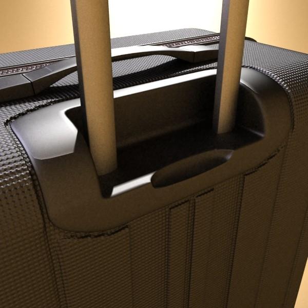 suitcase collection high detail 3d model 3ds max fbx obj 131635