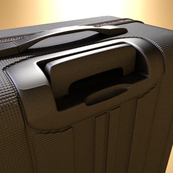 suitcase collection high detail 3d model 3ds max fbx obj 131636