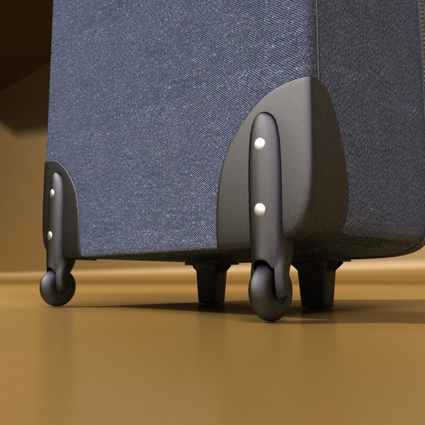 suitcase collection high detail 3d model 3ds max fbx obj 131650