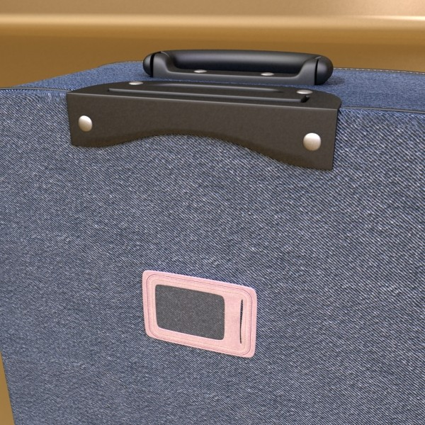 suitcase collection high detail 3d model 3ds max fbx obj 131651