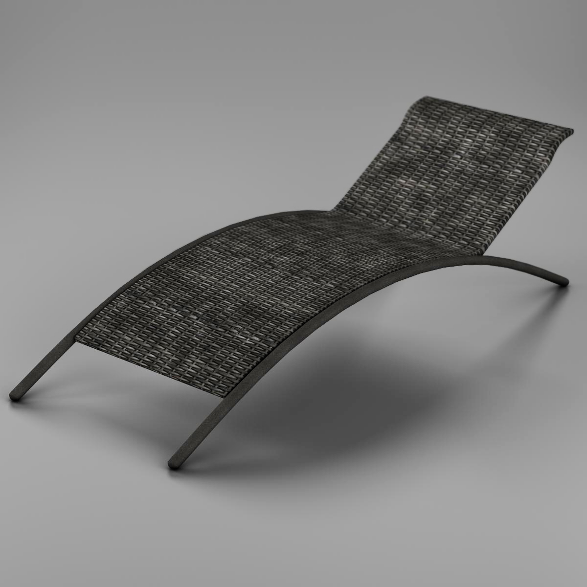 sunbed chair 3d model 3ds max fbx c4d ma mb obj 162639