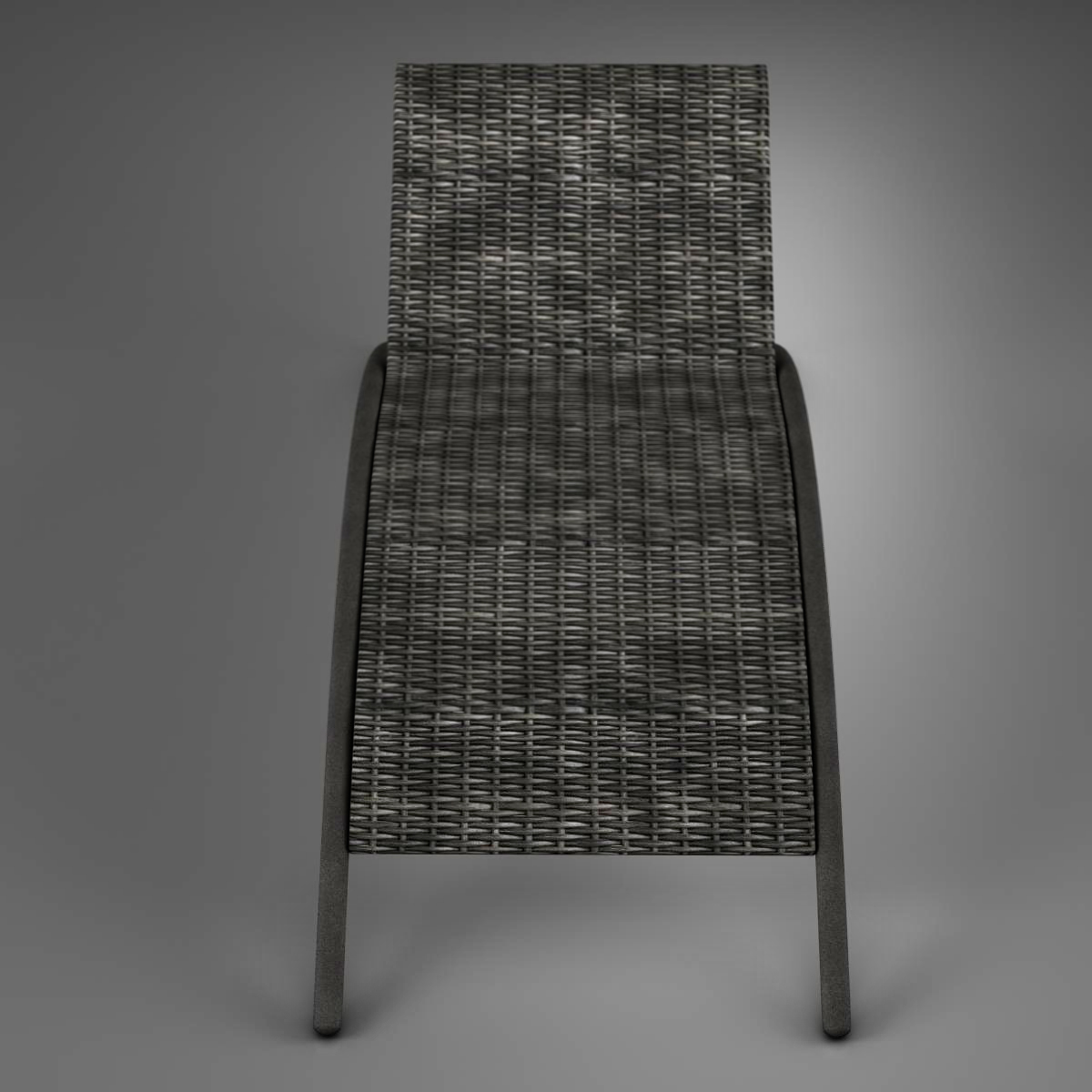 sunbed chair 3d model 3ds max fbx c4d ma mb obj 162640