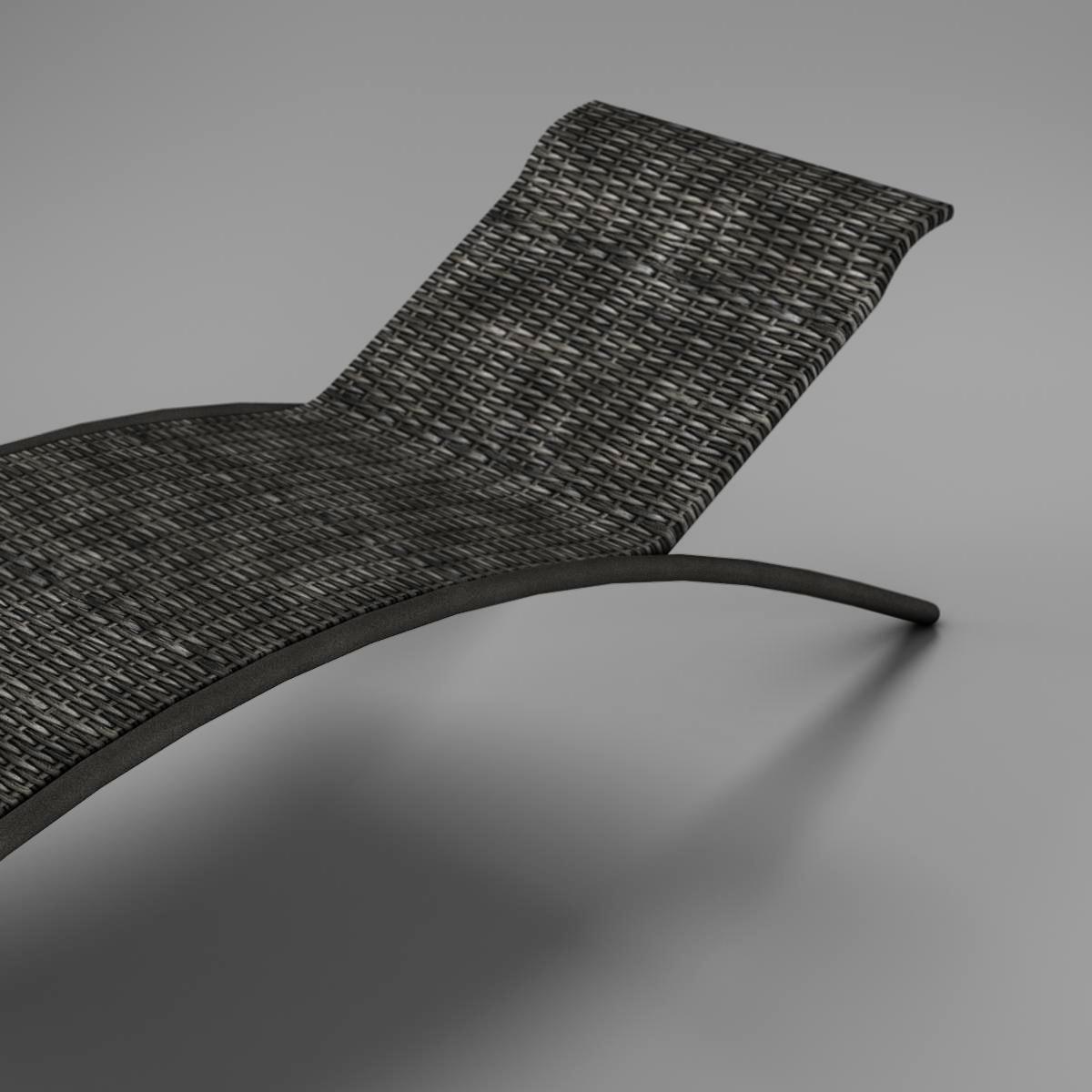 sunbed chair 3d model 3ds max fbx c4d ma mb obj 162643