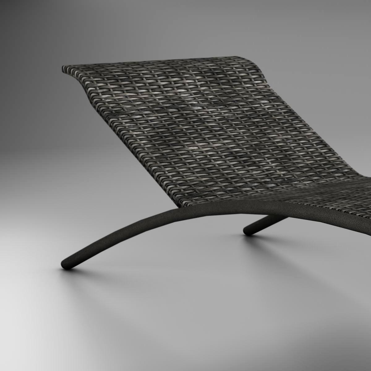 sunbed chair 3d model 3ds max fbx c4d ma mb obj 162644
