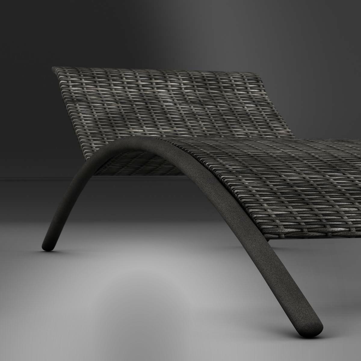 sunbed chair 3d model 3ds max fbx c4d ma mb obj 162645