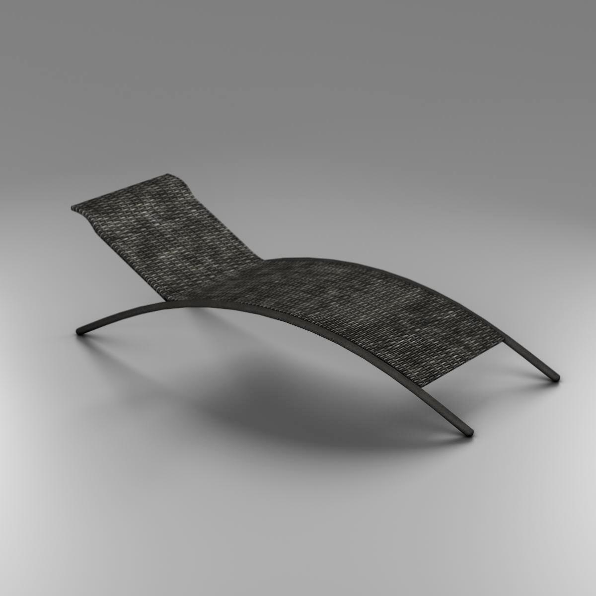 sunbed chair 3d model 3ds max fbx c4d ma mb obj 162647
