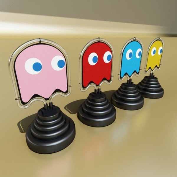 table lamp pacman сүнс 3d загвар 3ds max fbx 134873