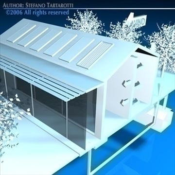 ecological house cutaway 3d model 3ds dxf c4d obj 82486