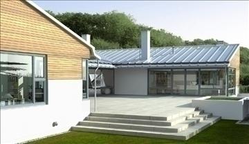 house 001 3d model max 91333