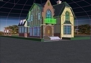 house 004 3d model max psd 91343
