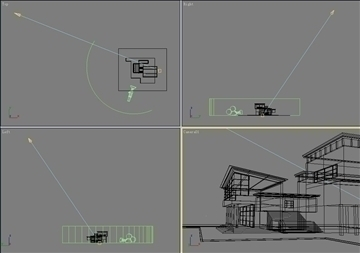house 006 3d model 3ds max psd 91347