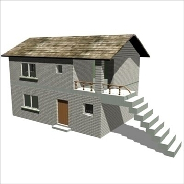 house 3d model 3ds max 102186