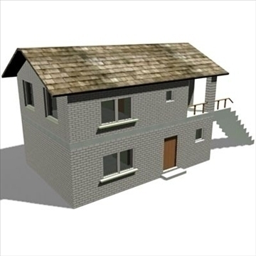house 3d model 3ds max 102188