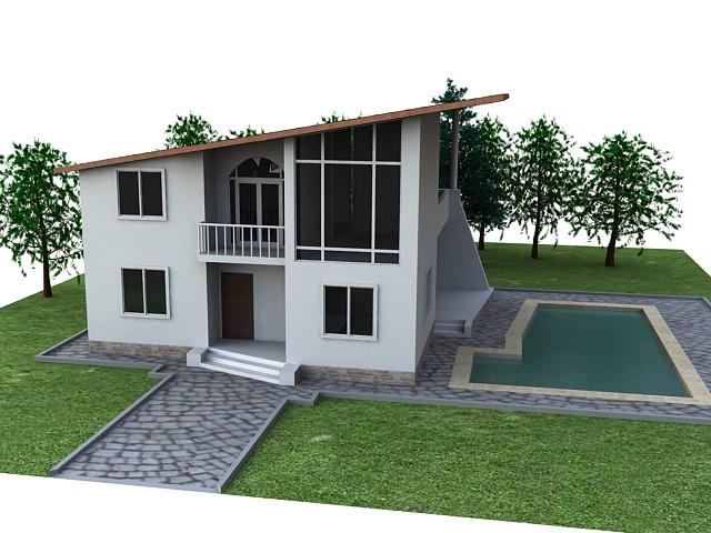 house v2 3d model max 114133