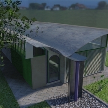 magney house 2008 3d model 3ds max fbx obj 88283