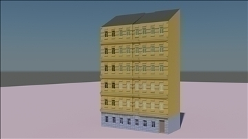old styled building 2 3d model 3ds max fbx c4d ma mb obj 106158