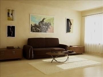 room modern class 3d model max 86790