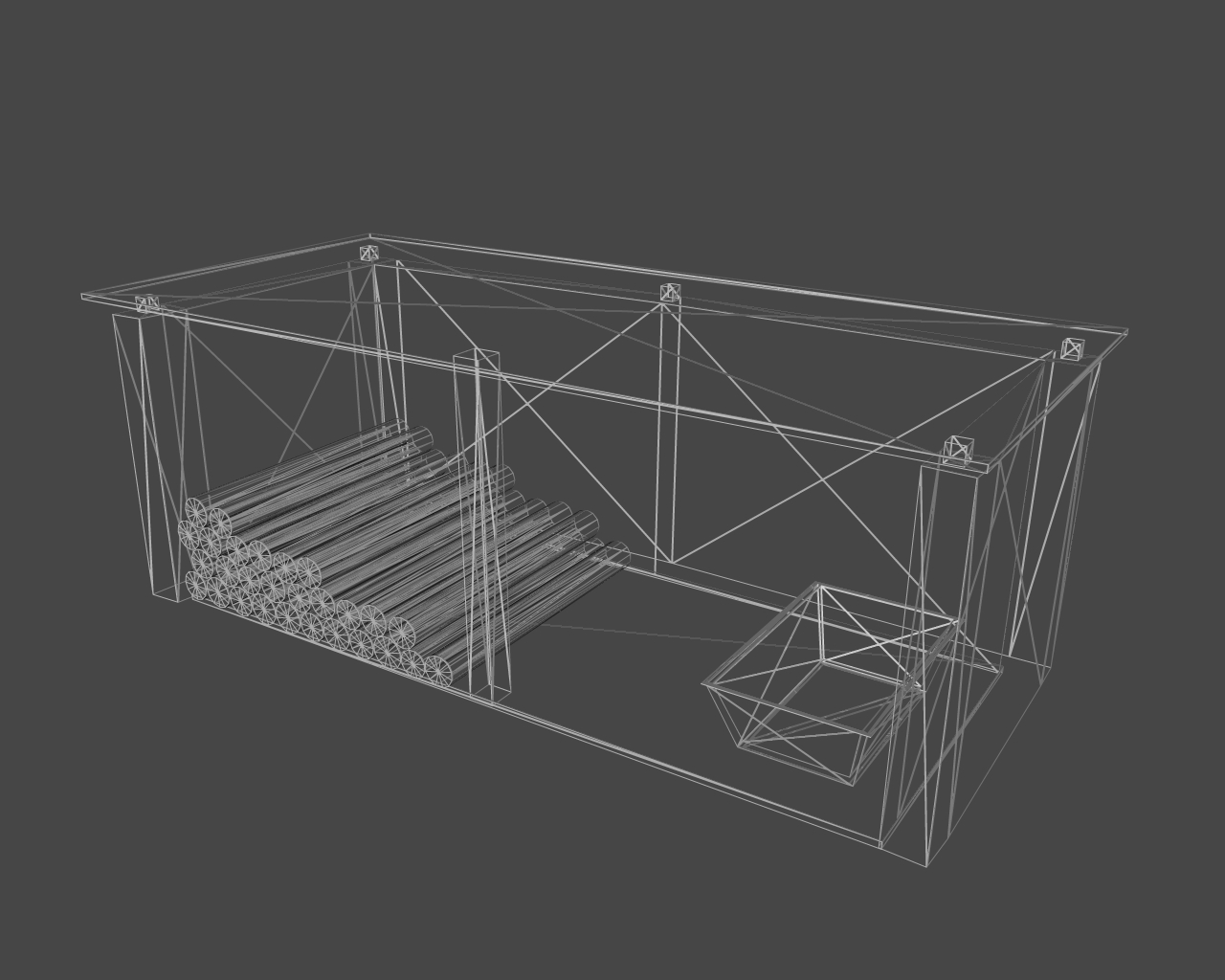 shed 3d model 3ds 164864