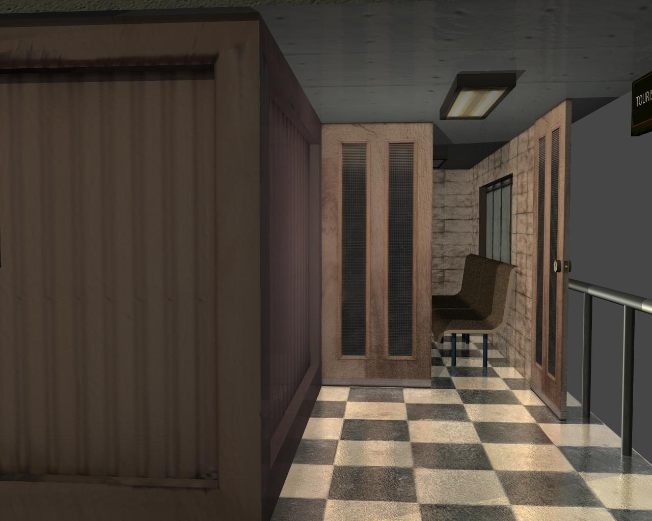 tourist office 3d model 3ds 165612
